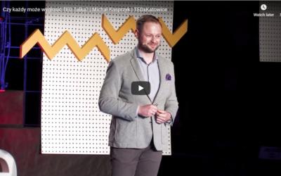 Czy każdy może wygłosić TED Talka?