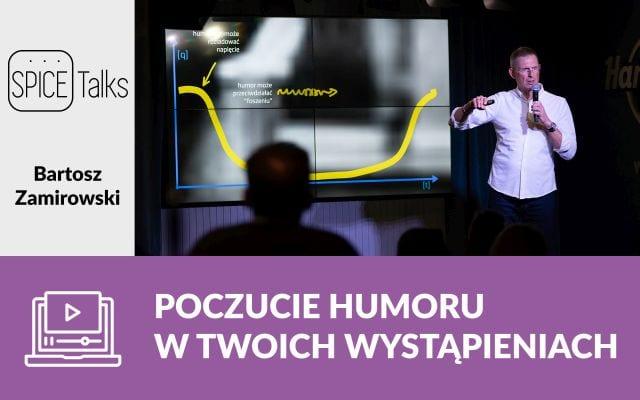 Poczucie humoru w twoich wystąpieniach