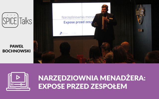 Narzędziownia Menadżera: expose przed zespołem